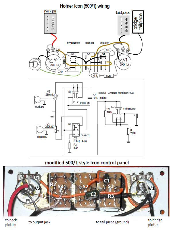 hofner icon bass 500 1 mods ctg electronics rh ctgelectronics weebly com P Bass Wiring hofner bass wiring schematic