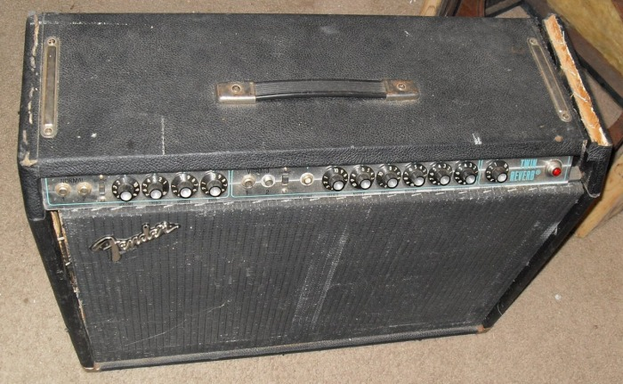 Fender '80 Silverface Twin Reverb Picture Gallery - CtG electronics